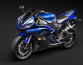 3D model Yamaha r6 2009