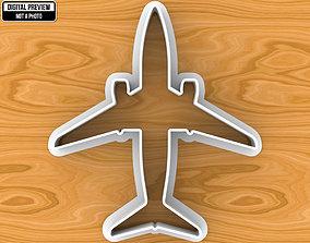 Boeing 737 Aircraft Dough Fondant 3D printable model 1