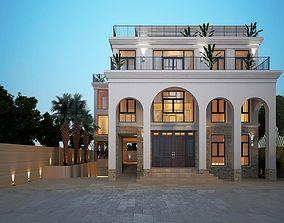 house 3D Print Villa 001