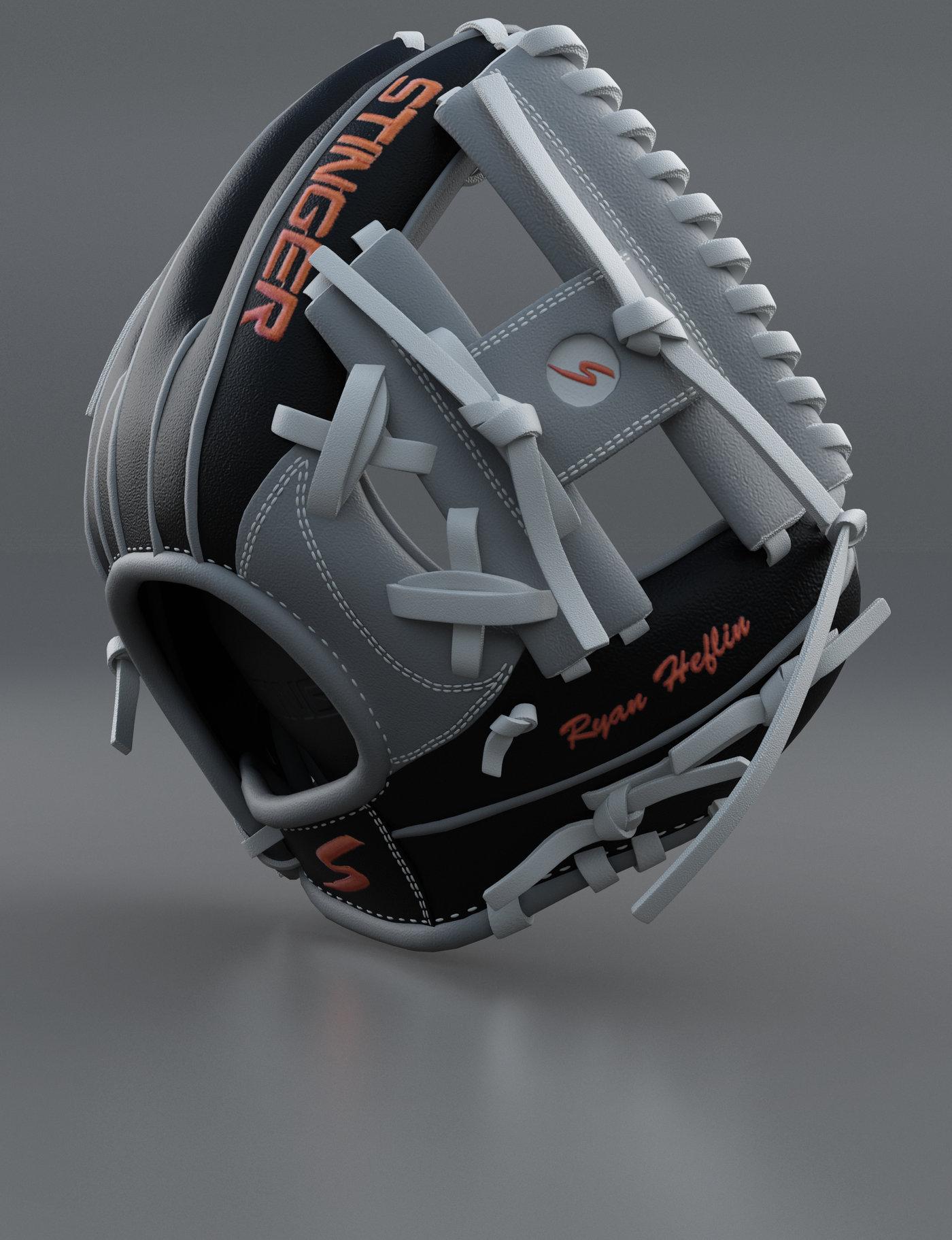 Baseball Glove Render