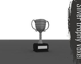 Voxel Silver Troph 3D model