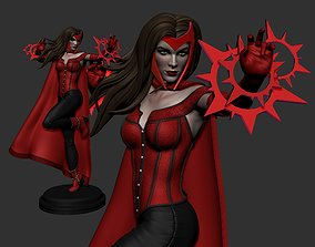 3D print model Scarlet Witch Statue