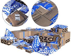 business Ozon parcels 3D