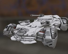 Batmobile JUSTICE LEAGUE STL 3D print model