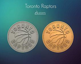 Toronto Raptors logo relief 3D printable model