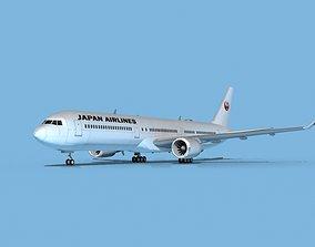 Boeing 767-400 Japan Air Lines 3D