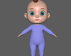 baby boy 3D model