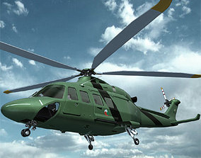 AW139 AB139 Helicopter 3D model