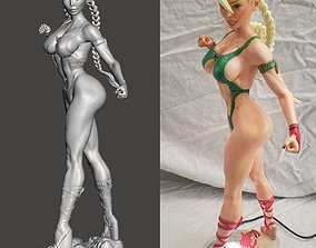 Beach Fighter2 Cammy by SPARX 3D printable model