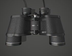 optic Binoculars 3D model