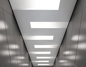 3D asset Suspended ceiling 002
