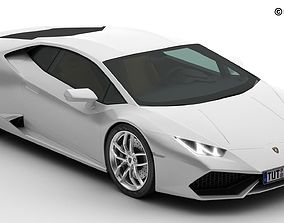 3D model Lamborghini Huracan LP-610-4