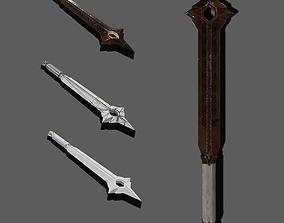 Balim Sword 3D model