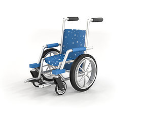 Wheelchair Cartoon Model