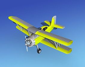 Grumman G-164 AgCat V08 Cropduster 3D model