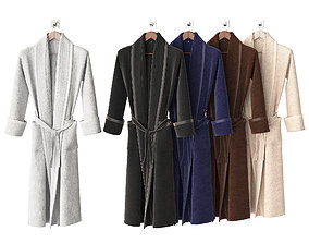 3D Bathrobe colors