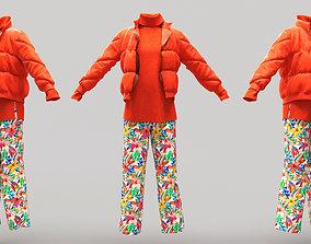 Female Clothing 08 3D model