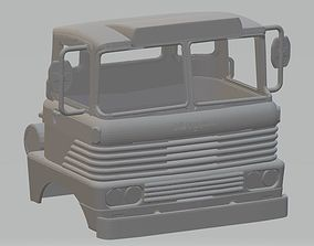 Scammell Trunker 1960s Printable Cab