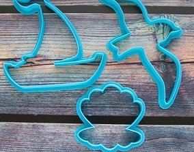 3D print model Sunset cookie cutter for professional