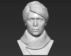 Melania Trump bust 3D printing ready stl obj formats