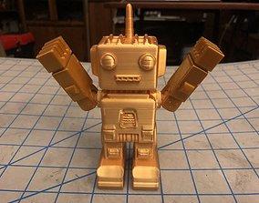 Cheez Peeza the Retro Robot 3D print model