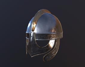 Helmet 3D asset rigged