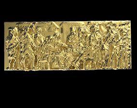 Triumphal Arch bas-relief 3D print model