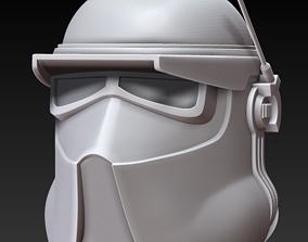 AT-RT Driver One12 Scale figure 3D printable model 2