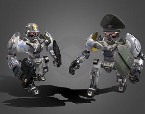 Panzersoldoffizier robot 3D model