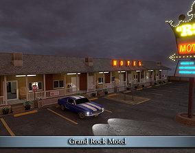 Grand Rock Motel 3D model