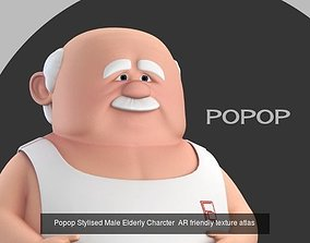 3D Meemaw and Popop stylised grandma grandpa combo pack