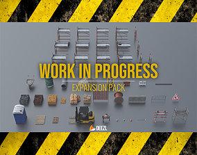 Work In Progress - Expansion Pack - Unreal Engine 3D model