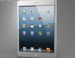 3D asset Apple iPad Mini White