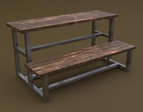 Tribune 01 R 3D asset