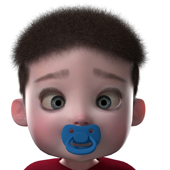 Boy Baby Character