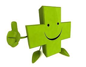 Fun Pharmacy character 3D model