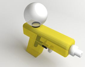 Toy Watergun 3 3D