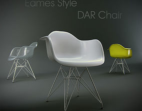 3D model Eames Style DAR Chair