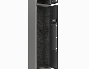 Branded 8 Gun Safe 3 PIN 3D
