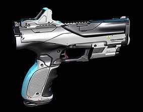 3D Concept sci fi weapon3