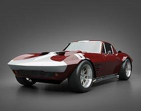 1965 GrandSport Corvette 3D
