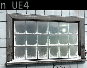 3D asset Frosted window