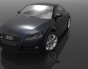 Audi TT auto 3D model