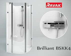3D Ravak Brilliant BSKK4