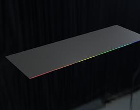 RGB Extended Mousepad LED Cool 3D asset