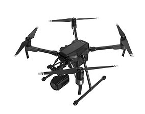 3D model DJI Matrice 200 Series with Zenmuse Z30