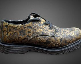 Leather Shoe DrMartens Short Like 3D asset