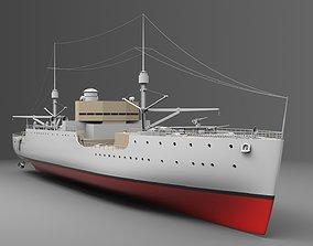 Watercraft 5 - USS Vestal 3D boat