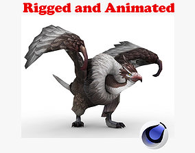 Condor Rigged and Animated 3D asset