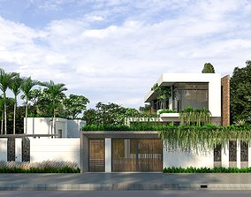Sustainable home design 3D animated